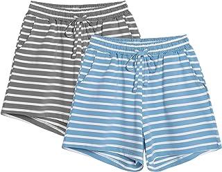 Sponsored Ad - Vesunda Women's Pajama Shorts Sleep Shorts Women Lounge Pants Women's Sleep Bottoms