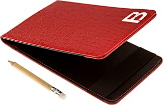 Fuzzy Bunkers Golf Scorecard Holder and Yardage Book Cover Plus Free Golf Pencil and Downloadable PDF Stat Tracker Sheet