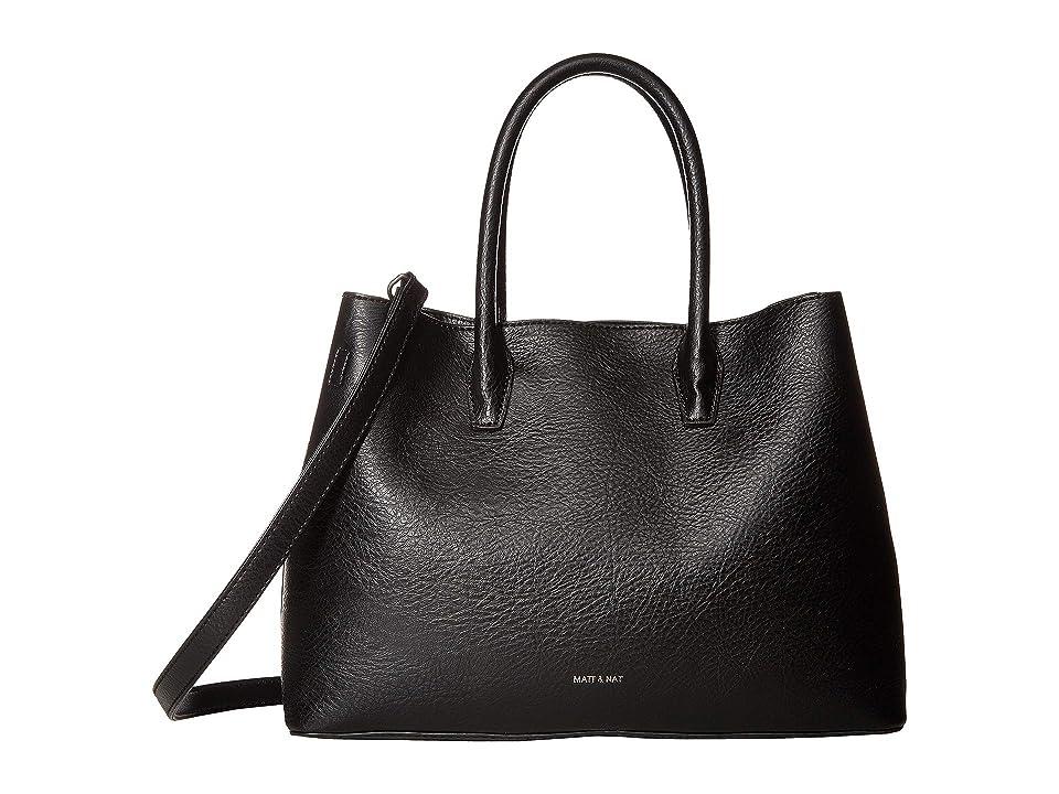 Matt & Nat Dwell Krista (Black/Black) Handbags