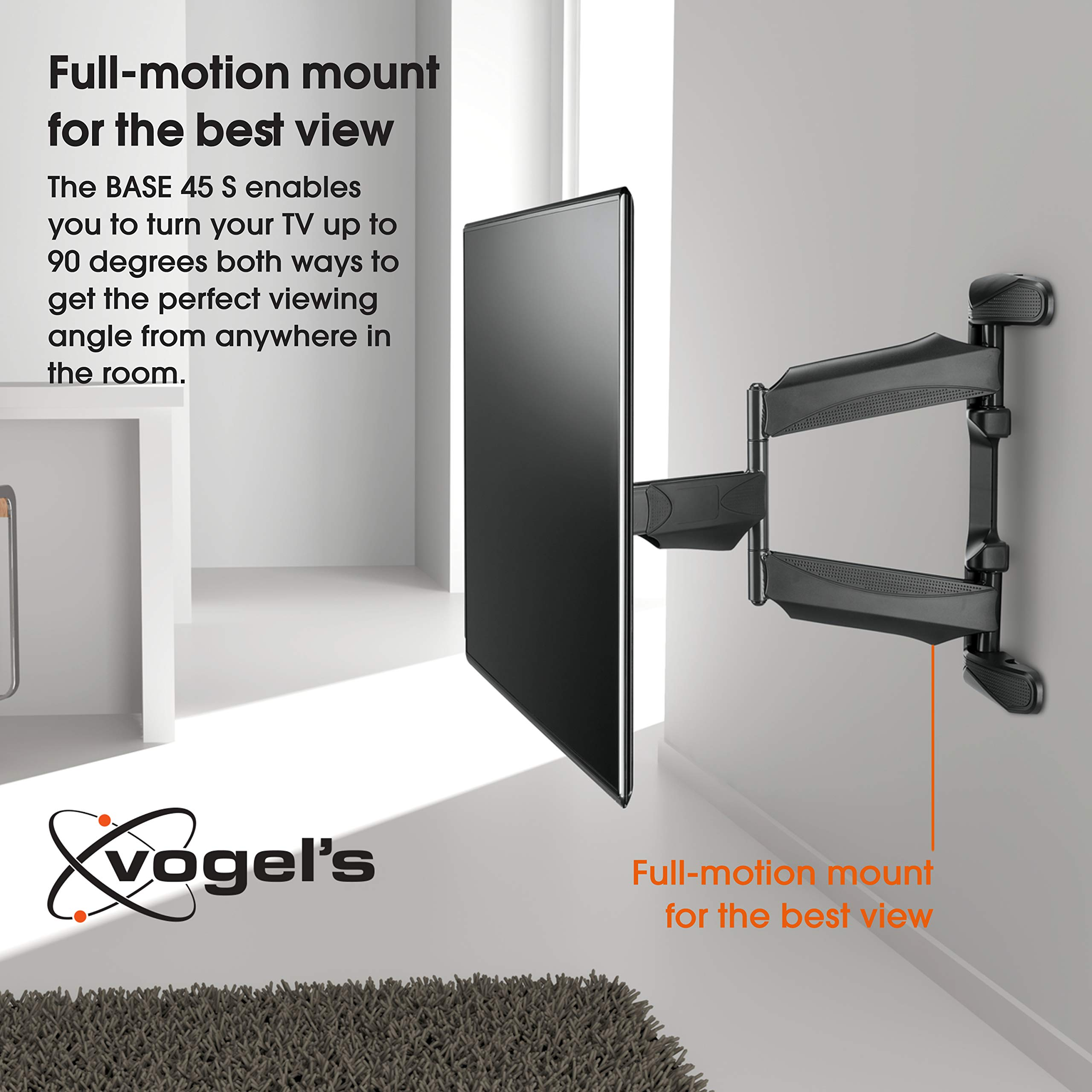 Vogels BASE 45 S, Soporte de pared para TV 19: Amazon.es: Electrónica