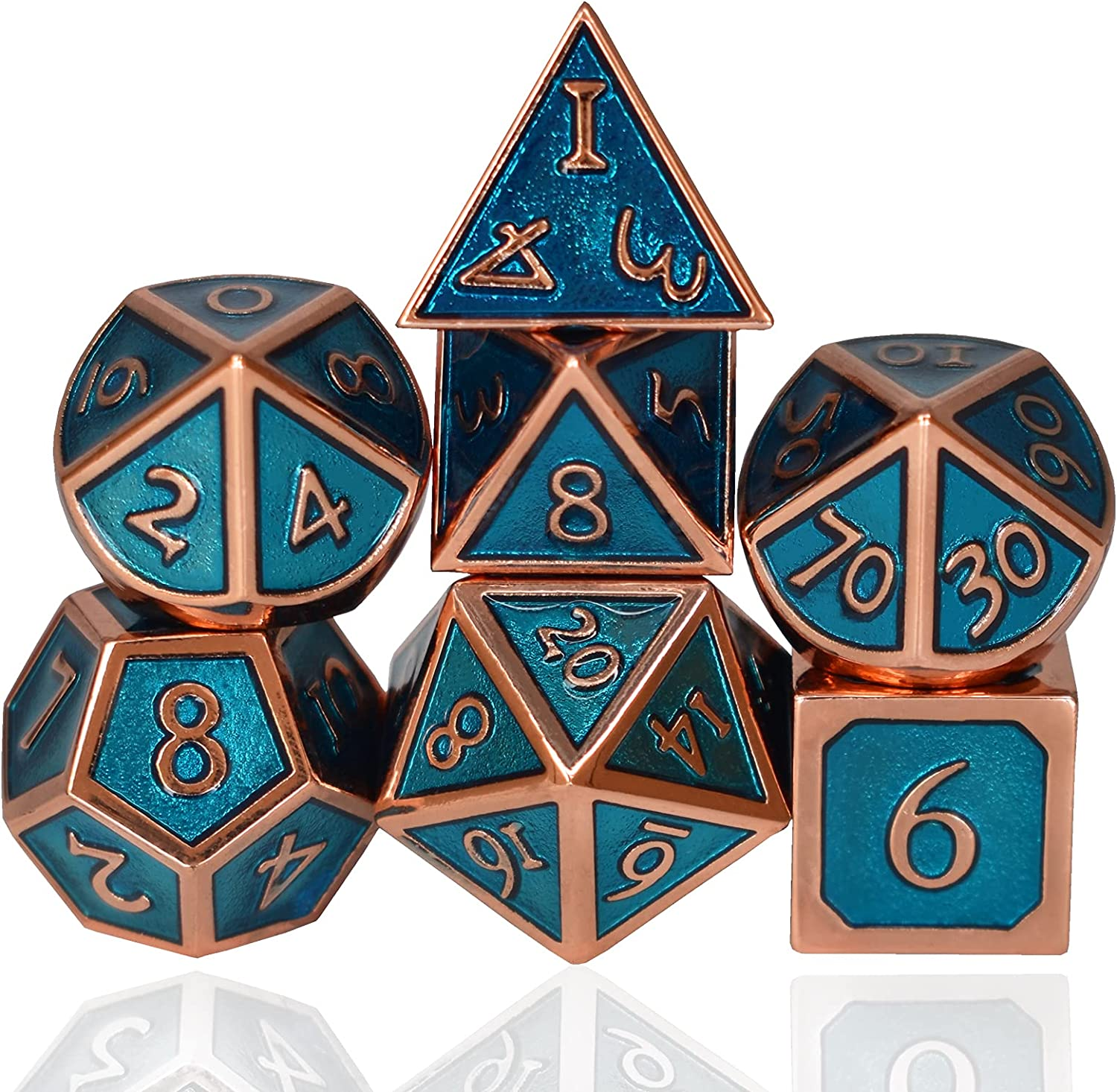 RULE DICE Metal Max 72% OFF Same day shipping DND Dice Dragons and with Dungeons Set