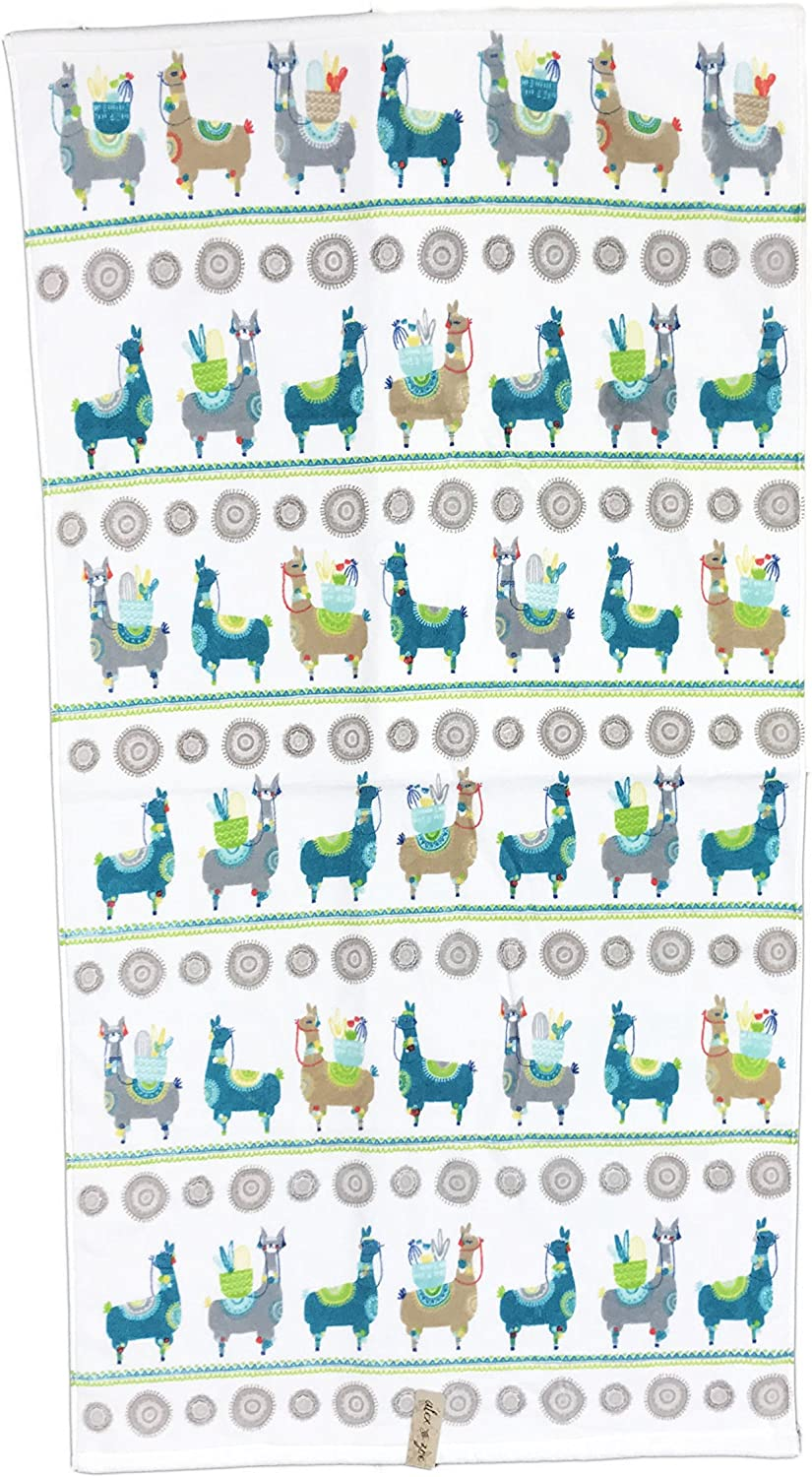 Alex and Zoe Bright 2021new shipping free OFFicial store Decorative Llamas Carrying Desert Whimsical