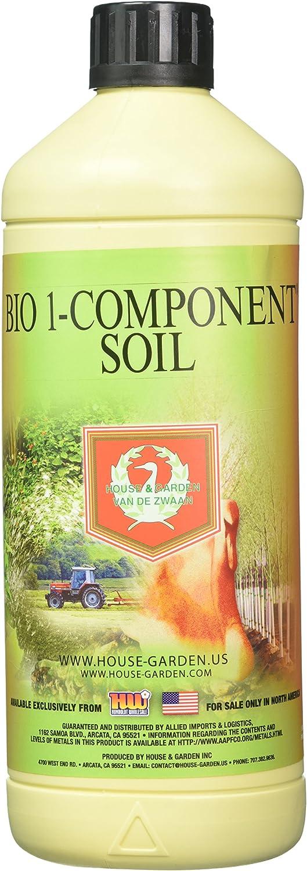 House & Garden HGBOC01L Bio Flower 1Comp Fertilizer, 1 L