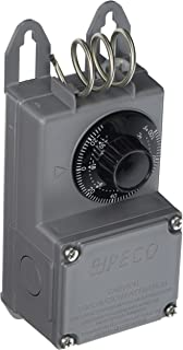 Peco TF115-023 Industrial NEMA 4X Thermostat, Gray