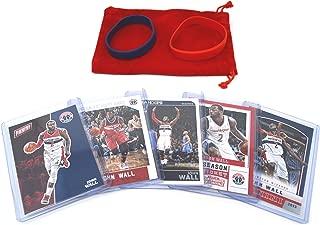 John Wall Basketball Cards Assorted (5) Bundle - Washington Wizards Trading Cards # 2