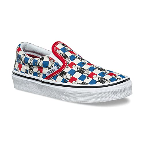 Vans Classic Slip-On (Marvel) Hulk/Checkerboard VN0A32QIU44 Kids Shoes