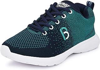 Bourge Boy's Orange-01 Running Shoes