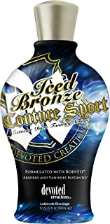 Devoted Creations Iced Bronze Sport Couture Tanning Lotion Serum 12.25 oz.