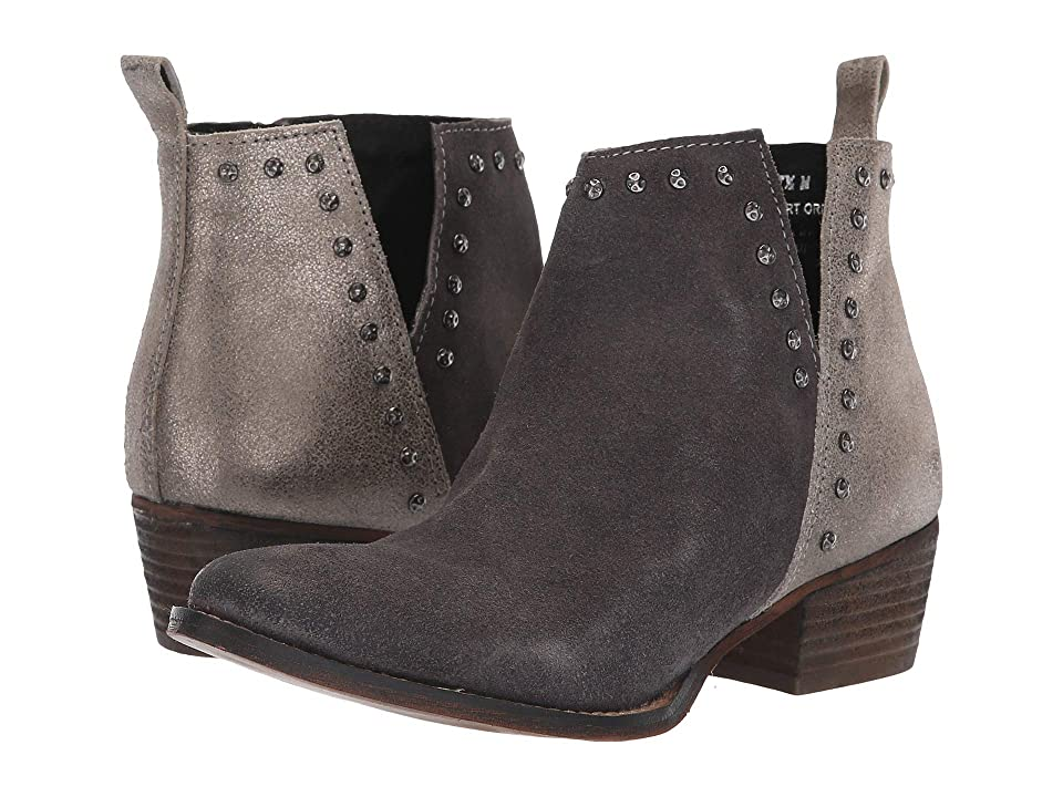 Diba True Short Order (Charcoal/Pewter Suede/Leather) Women
