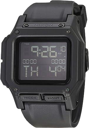 Nixon Regulus Men's Water and Shock Resistant Digital Watch. (46mm. Locking Looper Band)