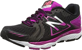 New Balance Womens 670 v5 Stability Trainers Sneakers in Black.