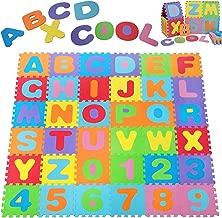 Deuba Puzzlematte 86 TLG -TÜV SÜD geprüft- Kinderspielteppich Spielmatte Spielteppich Schaumstoffmatte Matte bunt