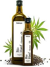 Premium BIO Hanföl von Steinberger   100% rein & kaltgepresst I Hanf-Öl mit nussigem Geschmack aus nachhaltigem Anbau   750 ml Glasflasche mit Dosierer
