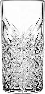 Hospitality Glass Brands 52800-012 Timeless Long Drink, 15 oz. (Pack of 12)