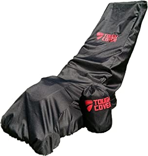 ToughCover Premium Waterproof Lawn Mower Cover Heavy Duty 600D Marine Grade Fabric...