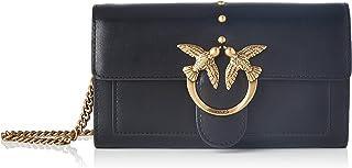 Pinko Love Wallet Simply 5 C Vit.Set, Accessori da Viaggio-Portafogli Donna