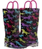 Western Chief Kids - Horse Dreams Lighted Rain Boot (Toddler/Little Kid)