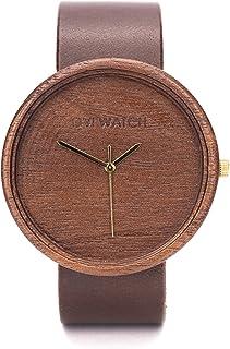 Reloj de Madera, Caja de Madera de Natural, Reloj Ligero y Elegante, Madera de Nogal, Ovi Watch, sostenible Relojes Mujer ...