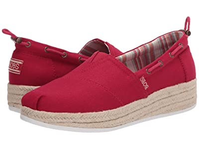BOBS from SKECHERS Highlights 2.0 Yacht Master (Red) Women