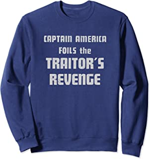Marvel Captain America Foils the Traitor's Revenge Sweatshirt