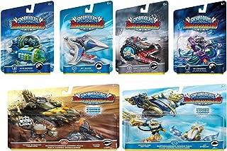 Skylanders SuperChargers 6 Pack Vehicle Starter Bundle! 6 Vehicles + 2 Characters: Dive Bomber, Sky Slicer, Crypt Crusher, Sea Shadow, Shark Shooter, Shark Tank, Hurricane Jet-Vac, Jet Stream
