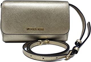Michael Kors Medium Convertible Pouchtte Leather Crossbody Shoulder Bag