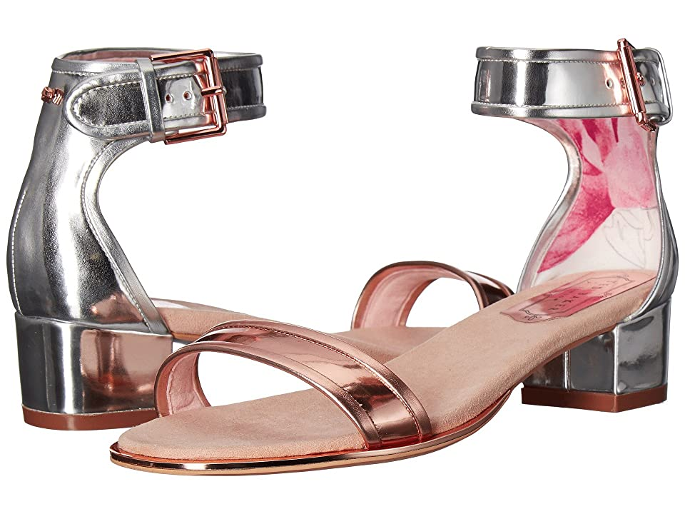 Ted Baker Ruz (Silver/Rose Gold Synthetic) Women