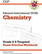 New Edexcel International GCSE Chemistry: Grade 8-9 Targeted Exam Practice Workbook (with answers) (CGP IGCSE 9-1 Revision)