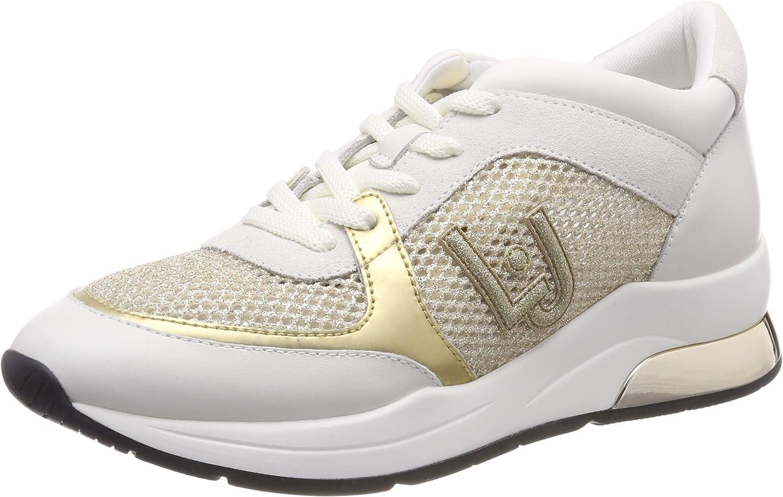 Liu Jo shoes Women's Karlie 12-Sneaker White Low-Top 01111, 8 UK