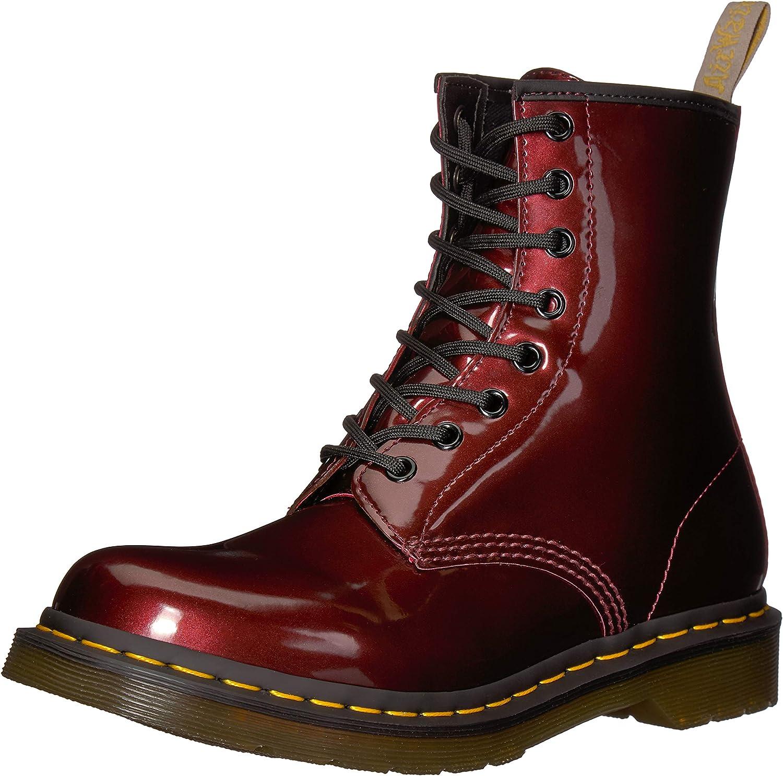 Dr. Martens Womens 1460 W Vegan Chrome Chukka Boot