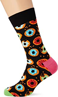Happy Socks Donut Sock Calcetines, Multicolor (Multicolour 930), 7/10 (Talla del fabricante: 41-46) para Hombre