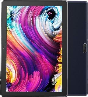 Android Tablet Pritom Tablet Android OS 9.0 de 10 pulgadas con 2 GB de RAM, 32 GB de ROM, procesador Quad Core, pantalla HD IPS, cámara frontal 2.0 y cámara trasera de 8.0 MP, Wi-Fi, Tablet PC (negro)