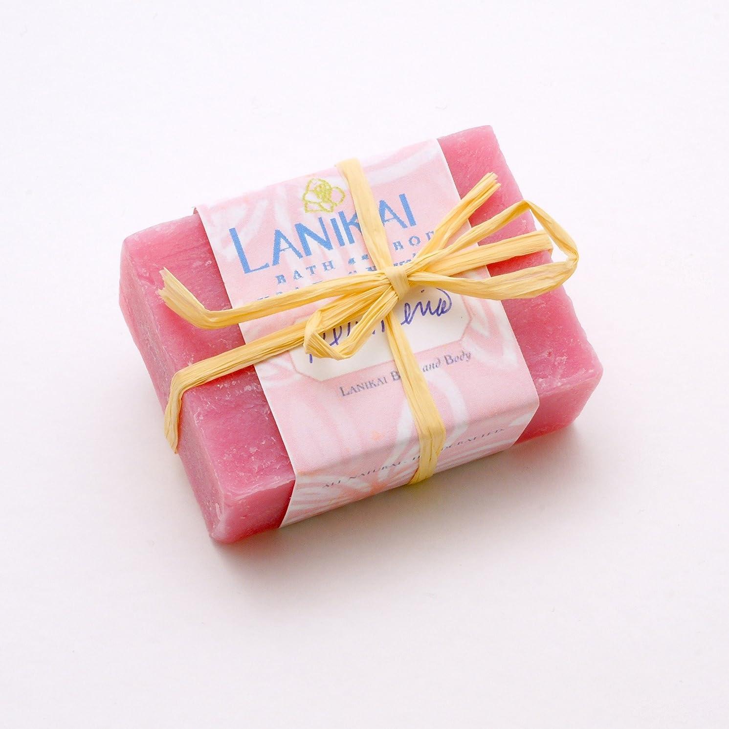 ピービッシュあからさま雇用者LANIKAI Handmade Hawaiian Soap Plmeria ハンドメイド ハワイアンソープ プルメリア