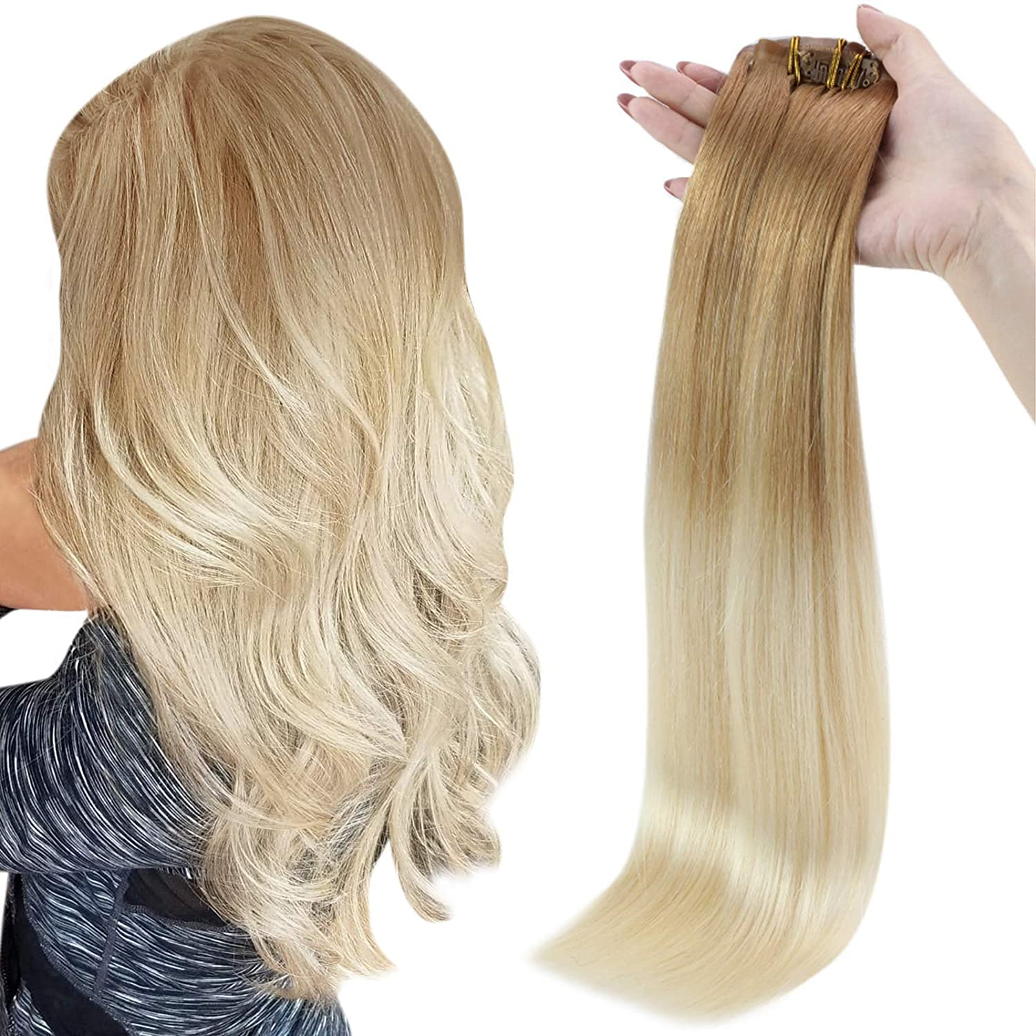 Full Shine Clip in favorite Hair Extensions Seamless Inch Weft Choice H Human 16