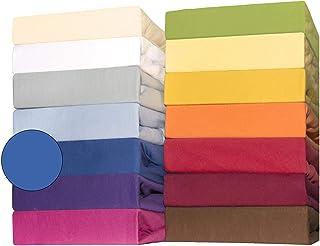 Baby-spännlakan Jersey bomull | många färger individuellt eller i setet | spännlakan för barnmadrass | 60 x 120 till 70 x ...