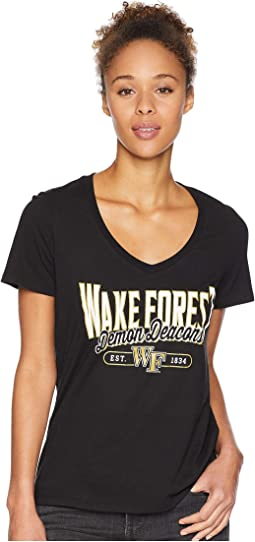 Wake Forest Demon Deacons University V-Neck Tee