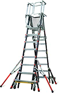 adjustable safety ladder