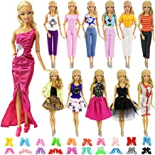 Barbie Doll sized Cloth//Accessory@ONE Fashion Gown/&1 Veil/&1 pair Shoes@ON SALE