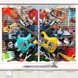 Best rock and roll window curtains Reviews