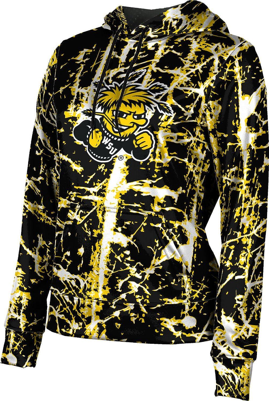 ProSphere Wichita State University Girls' Pullover Hoodie, School Spirit Sweatshirt (Distressed)