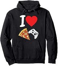 Gamer T Hoodie Love Pizza Boys Video Game Kids Son Kids Pie