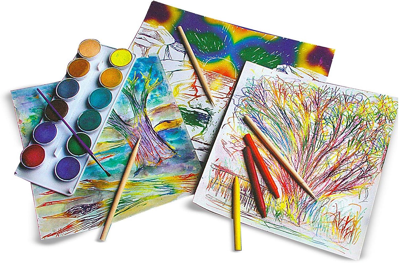Melissa & Doug Scratch Art Paper, Rainbow Weiß, Weiß, Weiß, 50-Sheets B004Y7WB6G    Spielzeug mit kindlichen Herzen herstellen  991d73