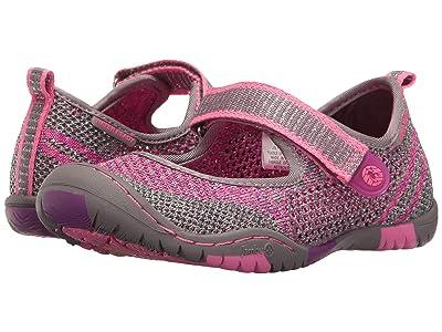 Jambu Kids Sora (Toddler/Little Kid/Big Kid) (Grey/Pink) Girls Shoes