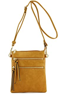 ad4581cf2 Amazon.com: Yellows - Crossbody Bags / Handbags & Wallets: Clothing ...