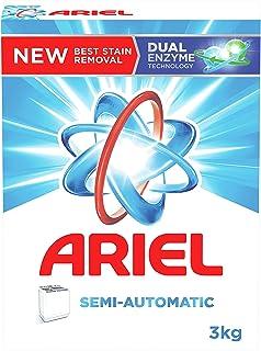 Ariel Powder Laundry Detergent, Original Scent, 3 KG