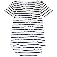 Hollister Women's Thin & Flattering Must-Have Easy T-Shirt HOW-17