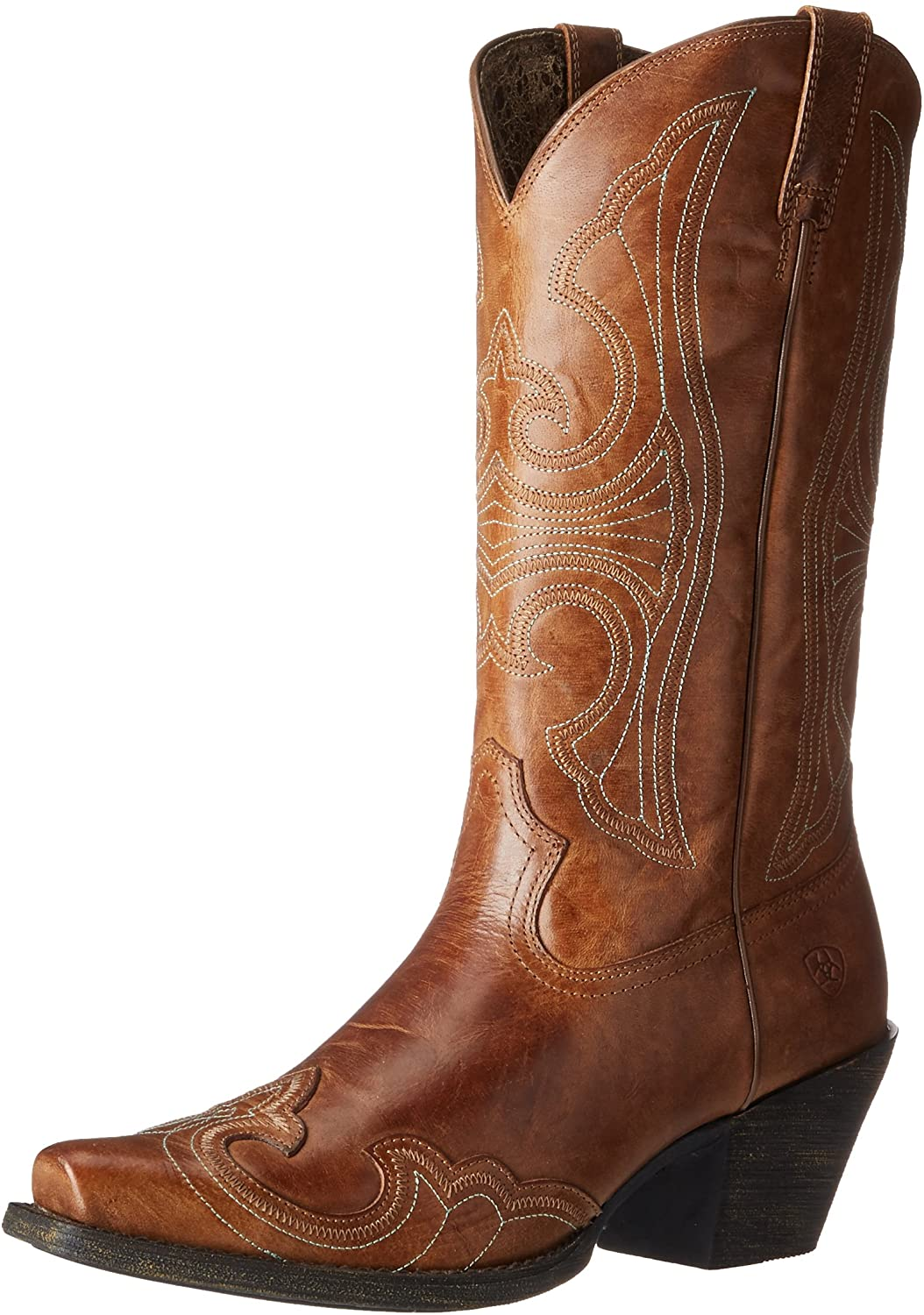 Ariat Round Up Sandsturm Stiefel Snip Toe