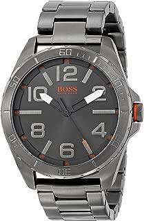 BOSS Orange Men's 1512999 Berlin Grey-Tone Stainless Steel Watch