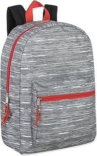حقائب ظهر للأولاد 43.18 سم للمدرسة - حقائب الكتب خفيفة الوزن مطبوعة للمدرسة للأطفال