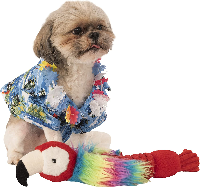 a la venta Rubies - Camisa Camisa Camisa Oficial de Largeulau y Disfraz de Perro Hawaiano Lei  para proporcionarle una compra en línea agradable